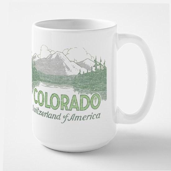 Vintage Colorado Mountains Mug