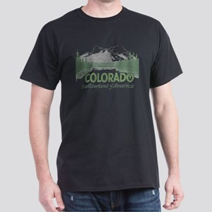 Vintage Colorado Mountains T-Shirt