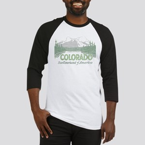 Vintage Colorado Mountains Baseball Jersey
