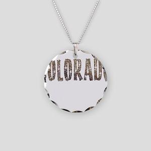 Colorado Stars and Coffee Necklace