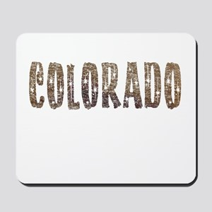 Colorado Stars and Coffee Mousepad