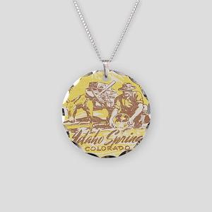Faded Idaho Springs Colorado Necklace
