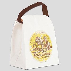 Faded Idaho Springs Colorado Canvas Lunch Bag