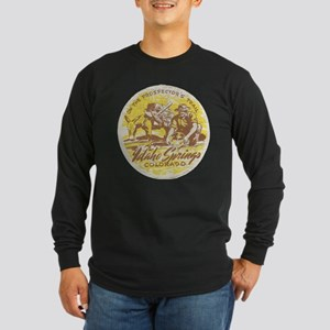 Faded Idaho Springs Colorado Long Sleeve T-Shirt
