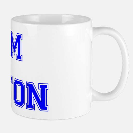 Team Aniston Blue Mug