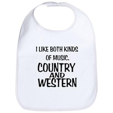 Country & Western Bib