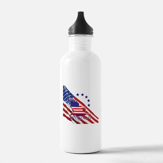 Freedom eagle 4 Water Bottle