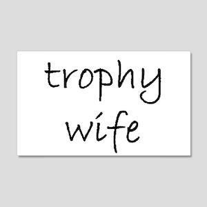 trophy wife golf ball Wall Decal