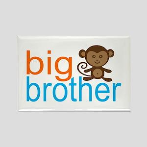 Monkey Big Brother Rectangle Magnet