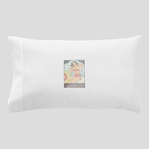 Vintage Connecticut Pinup Pillow Case