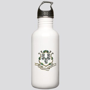 Vintage Connecticut State Flag Water Bottle