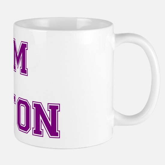 Team Aniston Purple Mug