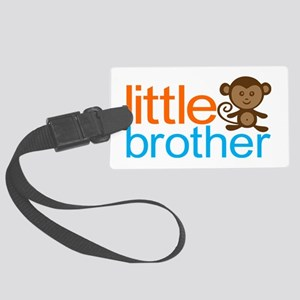 Monkey Little Brother Large Luggage Tag