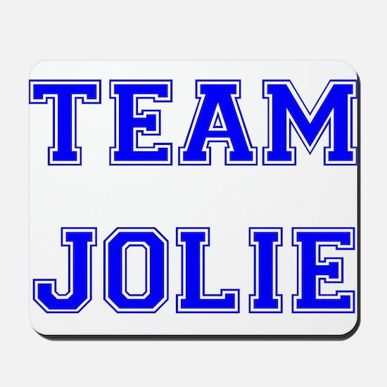 Team Jolie Blue Mousepad