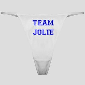 Team Jolie Blue Classic Thong