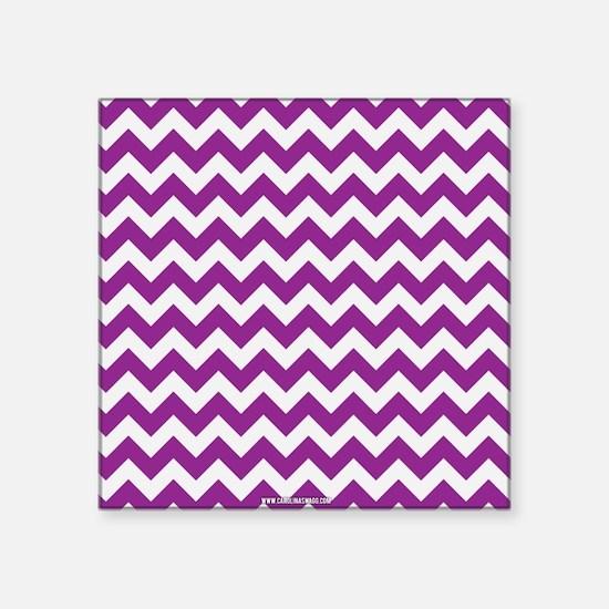 Chevron Purple Sticker