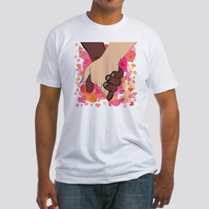 HOLDING HANDS 2 Fitted T-Shirt