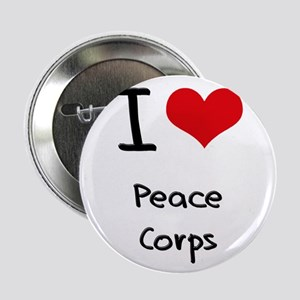 "I Love Peace Corps 2.25"" Button"