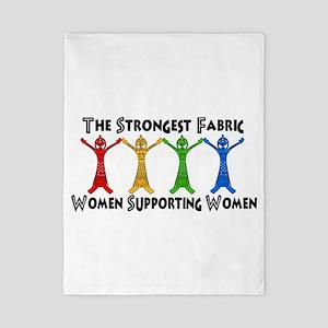 Women Supporting Women Twin Duvet
