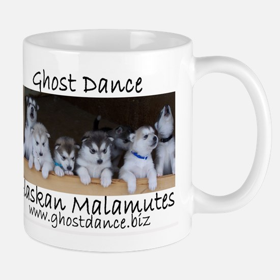 Ghost Dance Alaksan Malamute puppies Mug