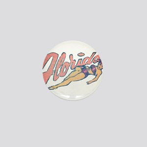 Vintage Florida Babe Mini Button