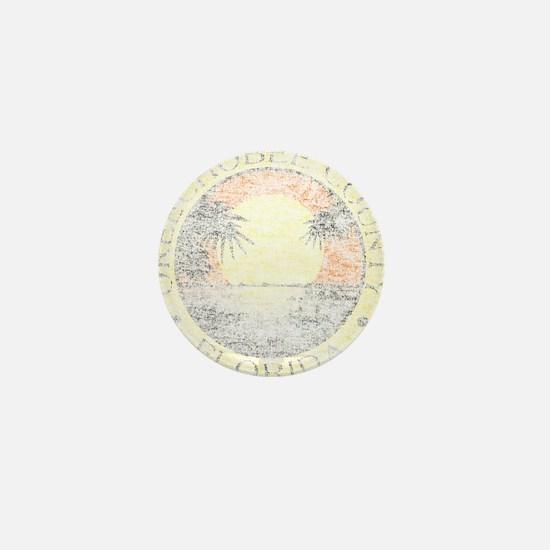 Vintage Okeechobee County Mini Button
