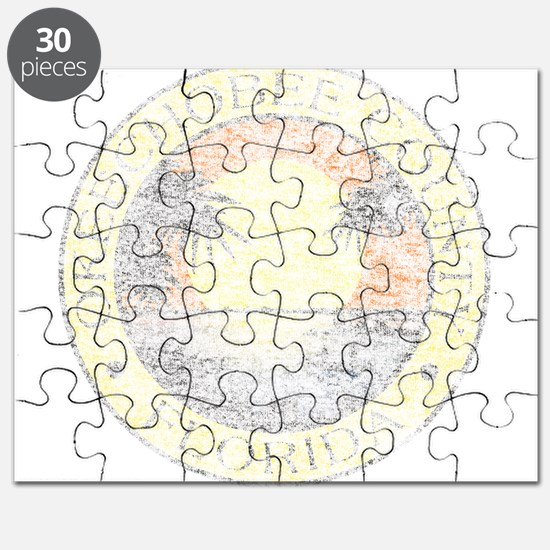 Vintage Okeechobee County Puzzle