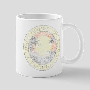 Vintage Okeechobee County Mug