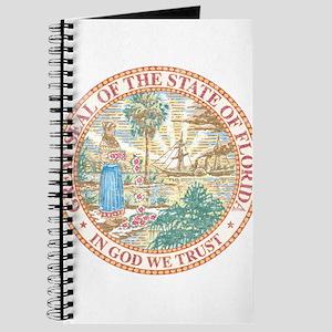 Vintage Florida Seal Journal