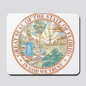 Vintage Florida Seal Mousepad