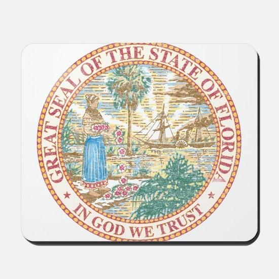 Vintage Florida Seal Mousepad