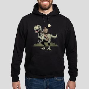 Footin' On The Rex Hoodie (dark)