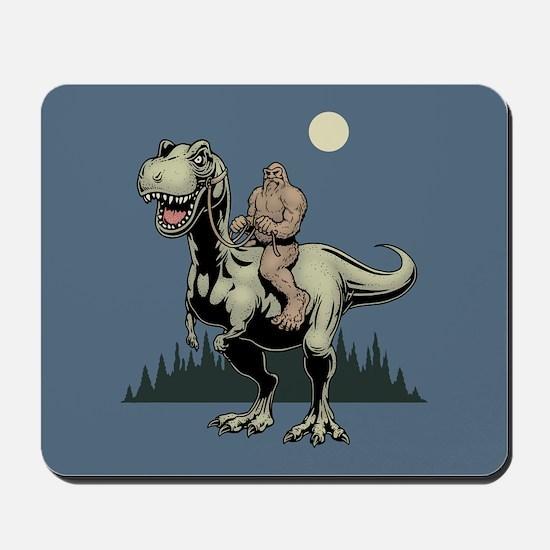 Footin' On The Rex Mousepad
