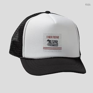 b8ac9962133 Country Chic Cow Farmhouse Kids Trucker hat