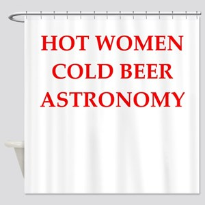 astronomy Shower Curtain