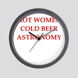astronomy Wall Clock