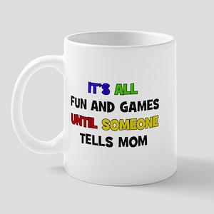 Fun & Games - Mom Mug