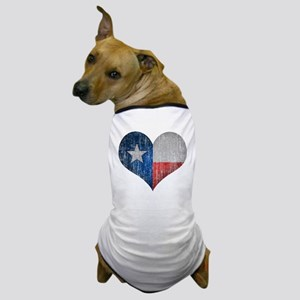 Faded Texas Love Dog T-Shirt
