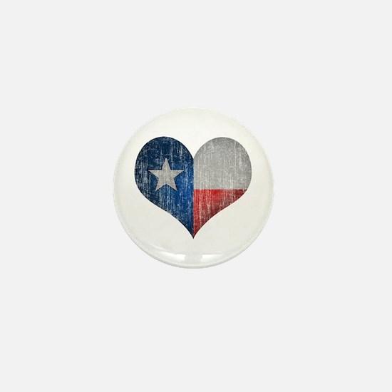Faded Texas Love Mini Button