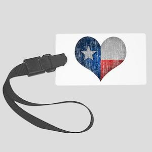 Faded Texas Love Luggage Tag