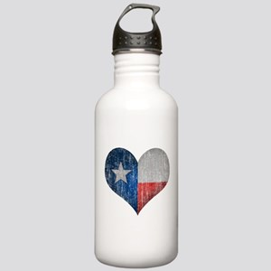 Faded Texas Love Water Bottle