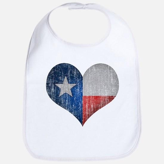 Faded Texas Love Bib