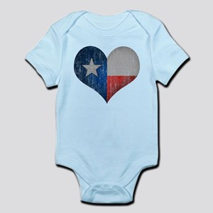 Faded Texas Love Body Suit