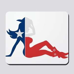 Texas Cowgirl Mousepad