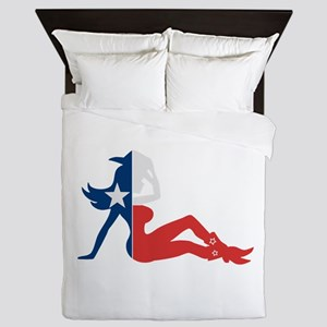 Texas Cowgirl Queen Duvet
