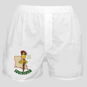 Louisiana Pinup Boxer Shorts