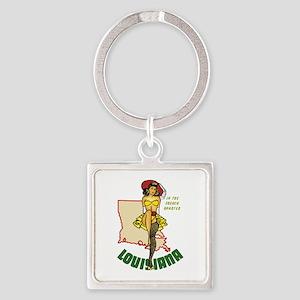 Louisiana Pinup Keychains