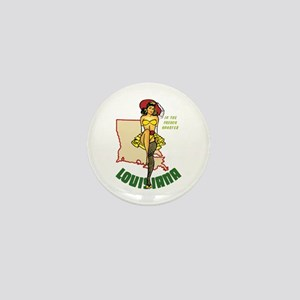 Louisiana Pinup Mini Button