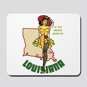 Louisiana Pinup Mousepad