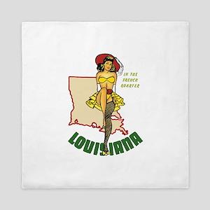 Louisiana Pinup Queen Duvet